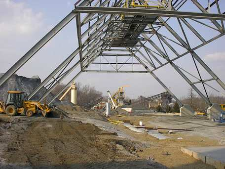 Steel A-Frame Structure