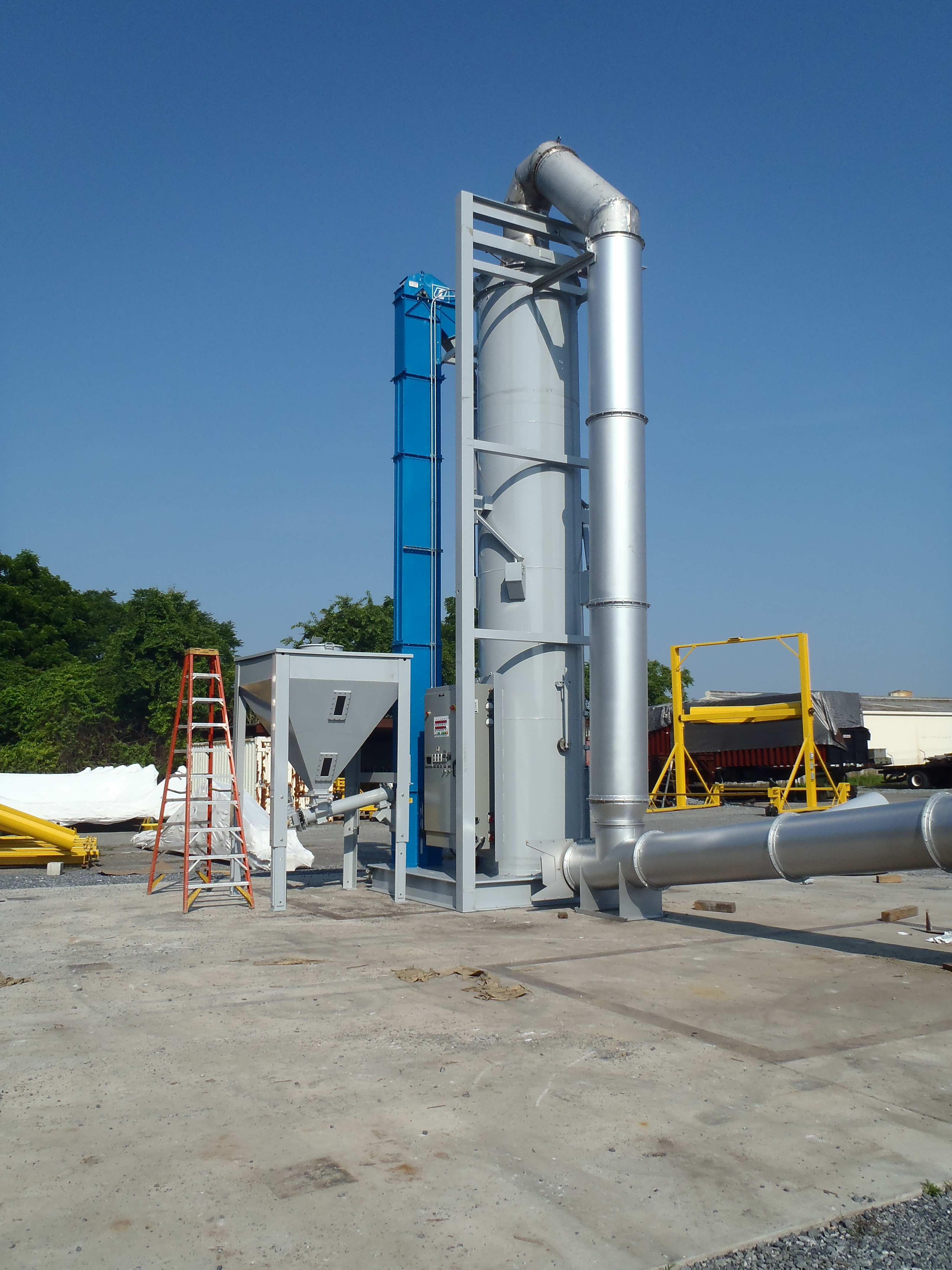 Bucket Elevator for Custom Furnace System