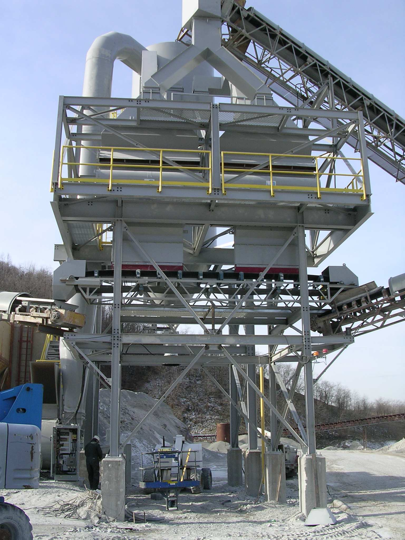Classifier Fabricated and Installed at Quarry