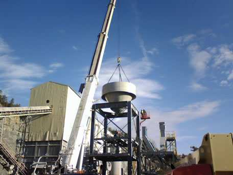 Installation of Dust Collector Base
