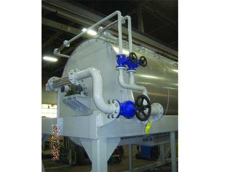 Evaporator with Painted Piping
