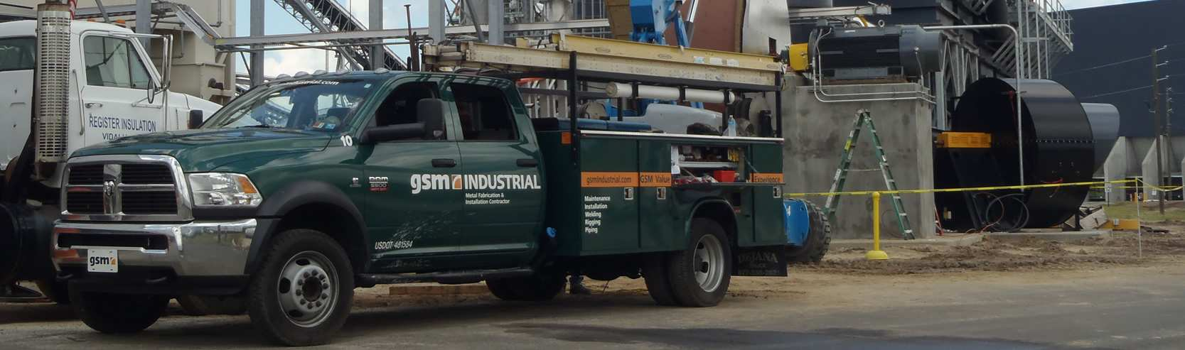 GSM Industrial Truck in the Field