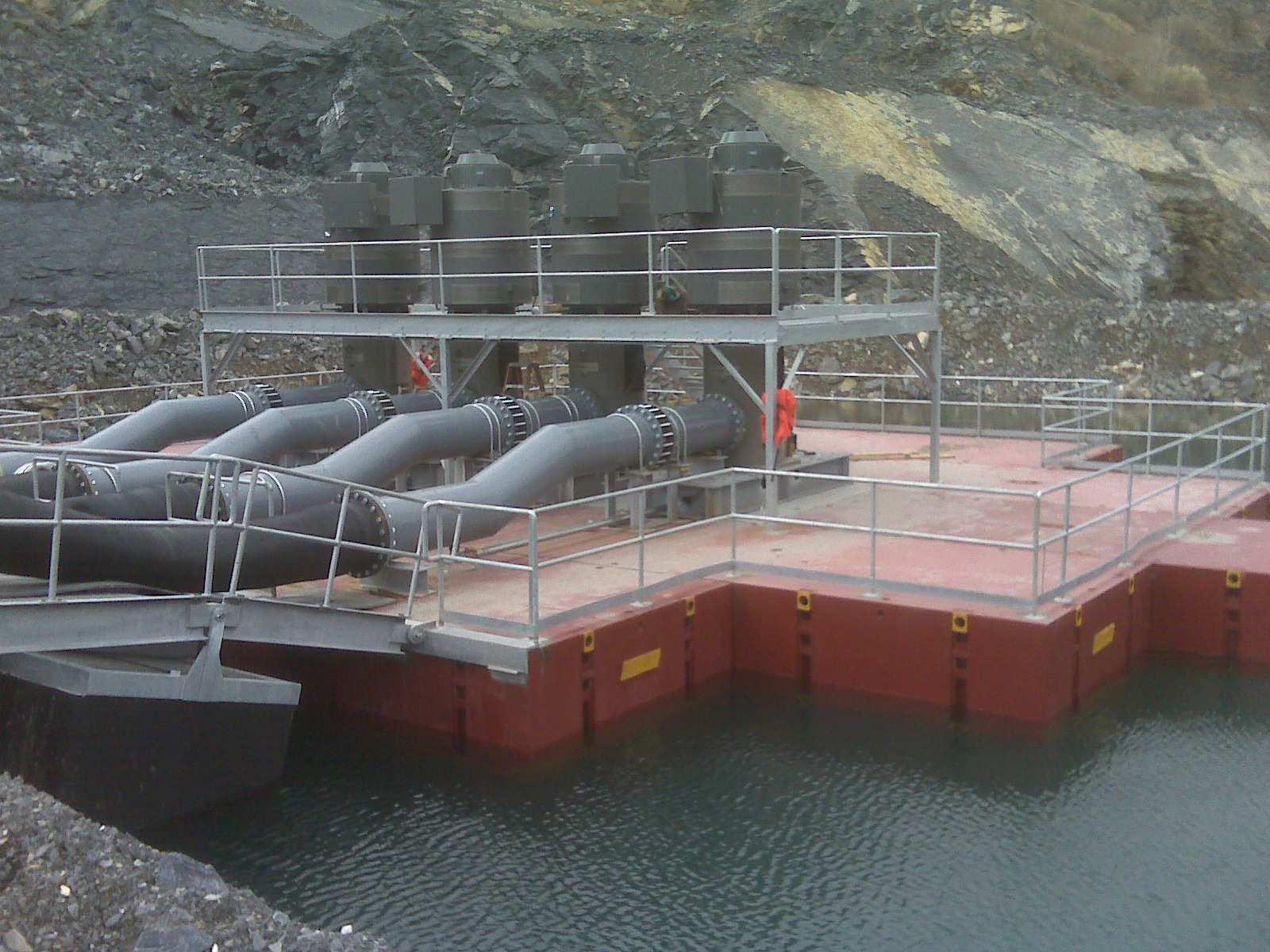 Hercules Quarry Sump Raft