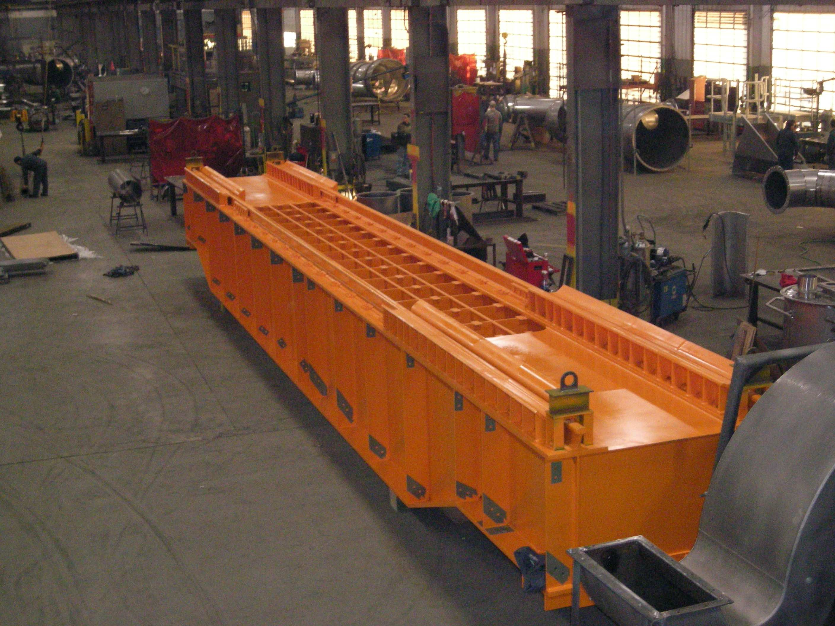 Large Assembly for Aggregate Industry