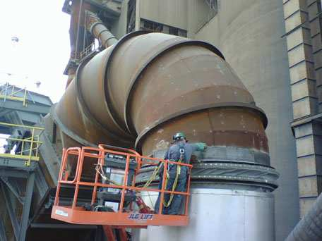 Large Diameter Ductwork Installation
