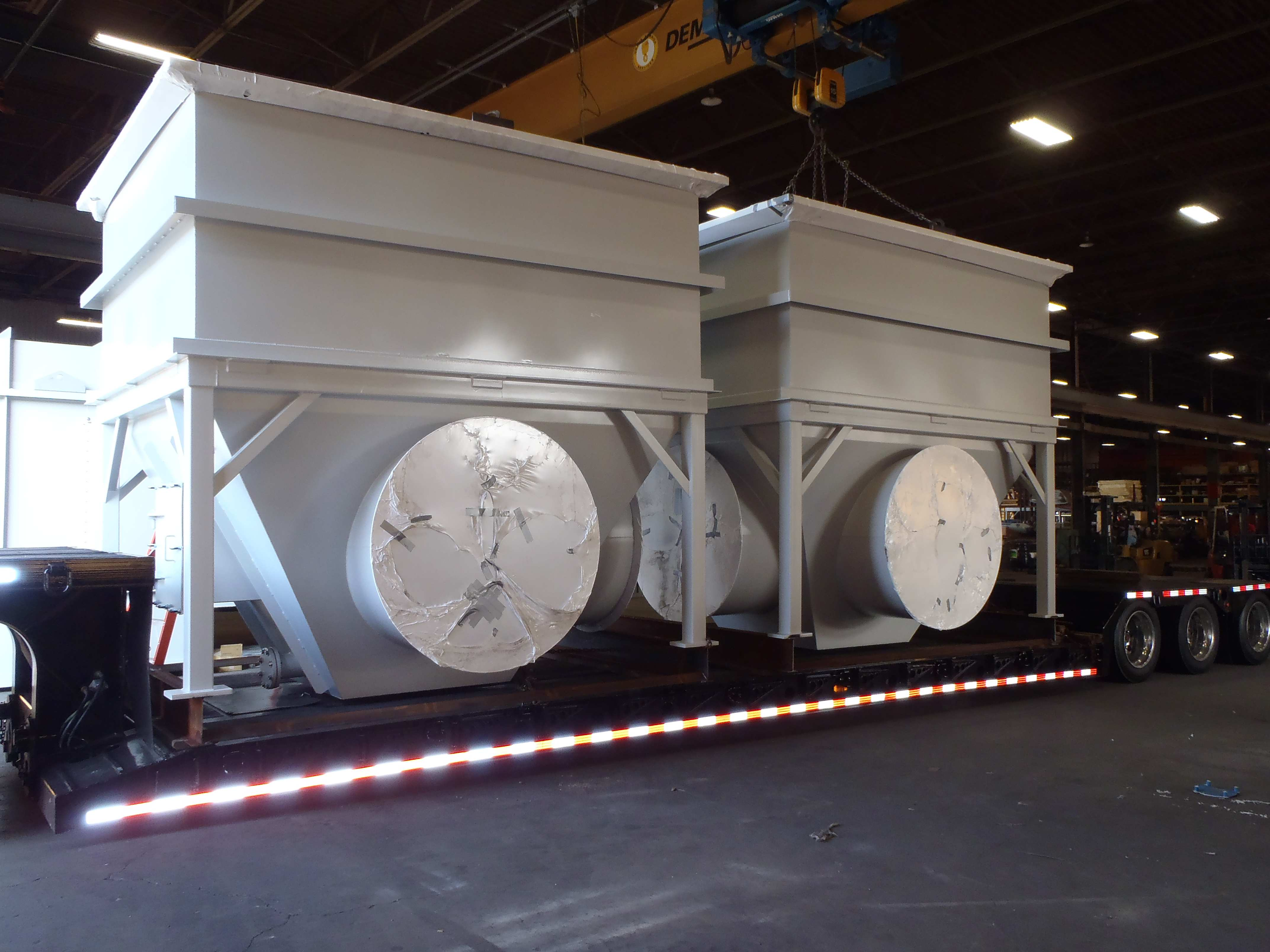 Large Hoppers Ready for Shipping