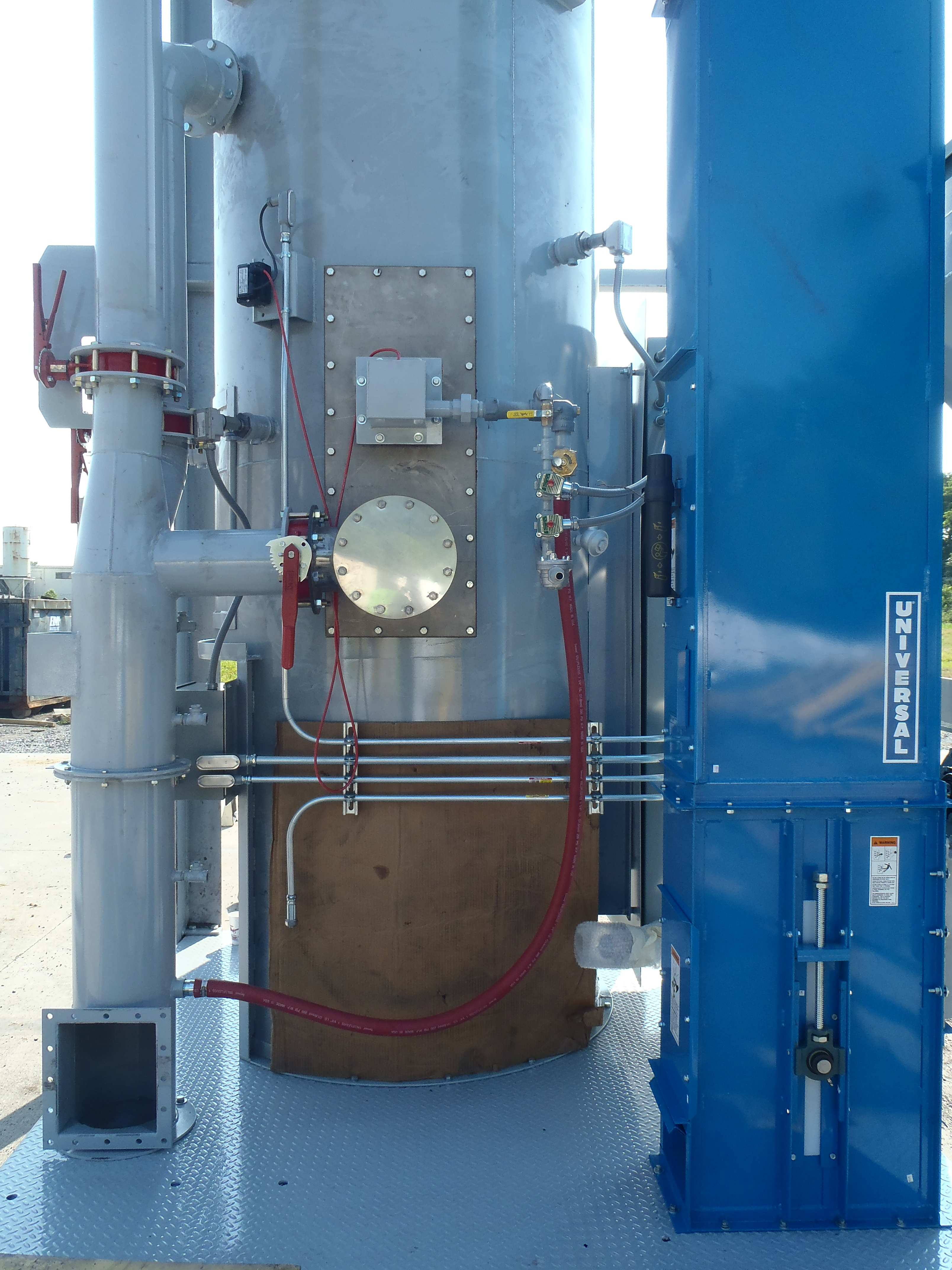 Piping for Custom Furnace System