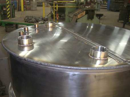 Stainless Steel Glue Mixing Tank