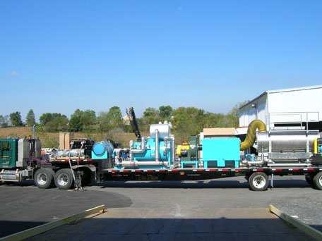 Scrubber Evaporator System for Odor Control