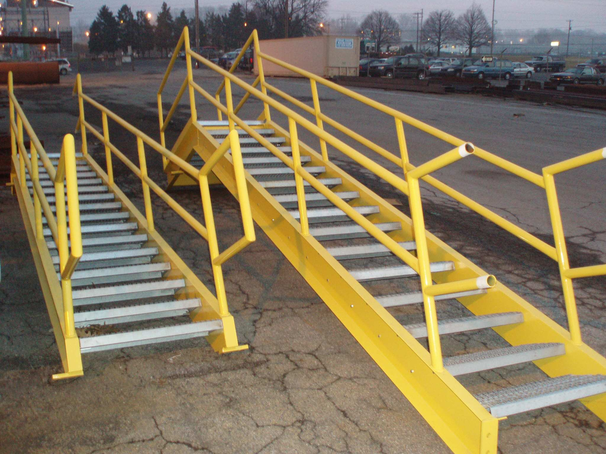 Finished Stairs Awaiting Pickup