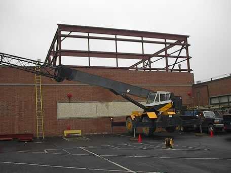 Structural Steel Rooftop Building Expansion