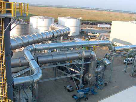 Thermal Oxidizer Ductwork