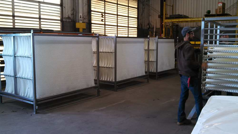 Fabrication of Filtration System for Waste Water Industry