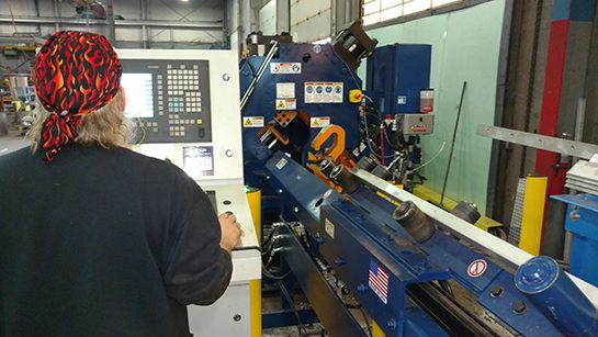 GSM Industrial's Ocean Clipper CNC Angle Line