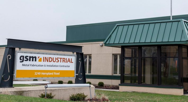 Front exterior shot of GSM Industrial