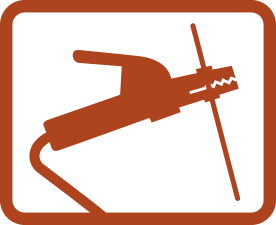 Stick welding icon